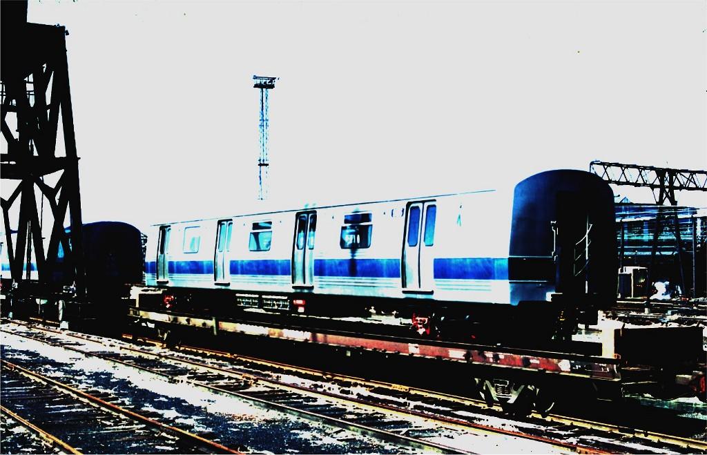(182k, 1024x659)<br><b>Country:</b> United States<br><b>City:</b> Hoboken, NJ<br><b>System:</b> New York City Transit<br><b>Location:</b> Hoboken Yard <br><b>Car:</b> R-46 (Pullman-Standard, 1974-75) 955 <br><b>Photo by:</b> Ed McKernan<br><b>Collection of:</b> Joe Testagrose<br><b>Date:</b> 3/13/1977<br><b>Viewed (this week/total):</b> 2 / 617