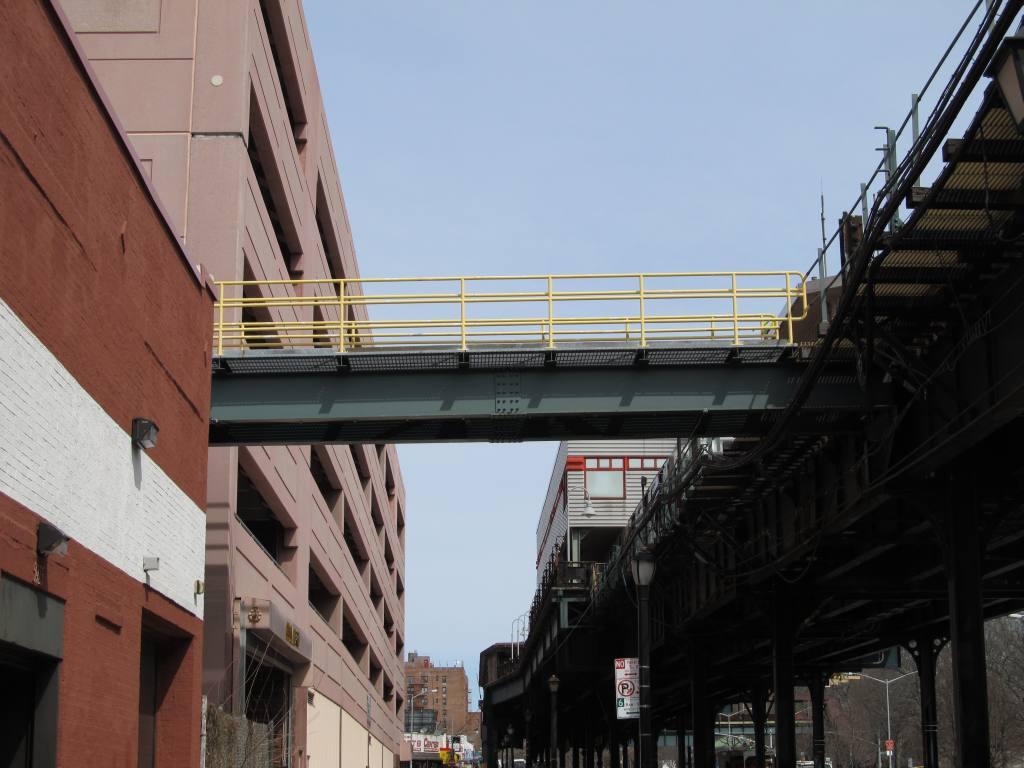 (98k, 1024x768)<br><b>Country:</b> United States<br><b>City:</b> New York<br><b>System:</b> New York City Transit<br><b>Location:</b> 240th Street Yard<br><b>Photo by:</b> Robbie Rosenfeld<br><b>Date:</b> 3/30/2011<br><b>Notes:</b> Walkway to shop from elevated structure.<br><b>Viewed (this week/total):</b> 1 / 1329