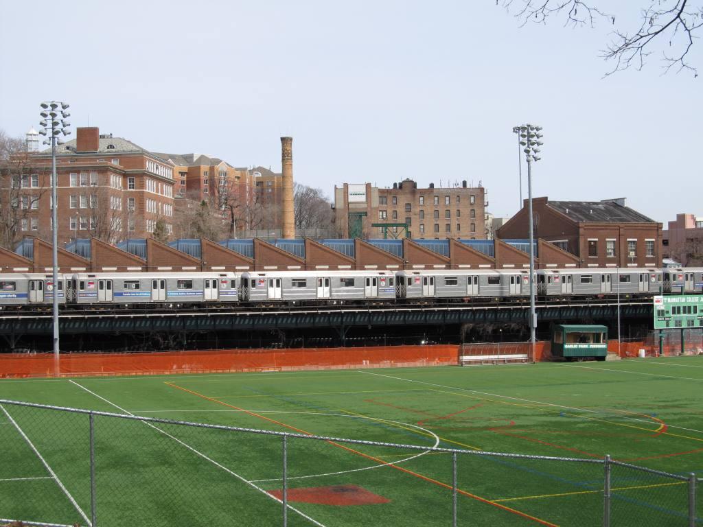 (117k, 1024x768)<br><b>Country:</b> United States<br><b>City:</b> New York<br><b>System:</b> New York City Transit<br><b>Location:</b> 240th Street Yard<br><b>Photo by:</b> Robbie Rosenfeld<br><b>Date:</b> 3/30/2011<br><b>Notes:</b> View of yard.<br><b>Viewed (this week/total):</b> 1 / 1798