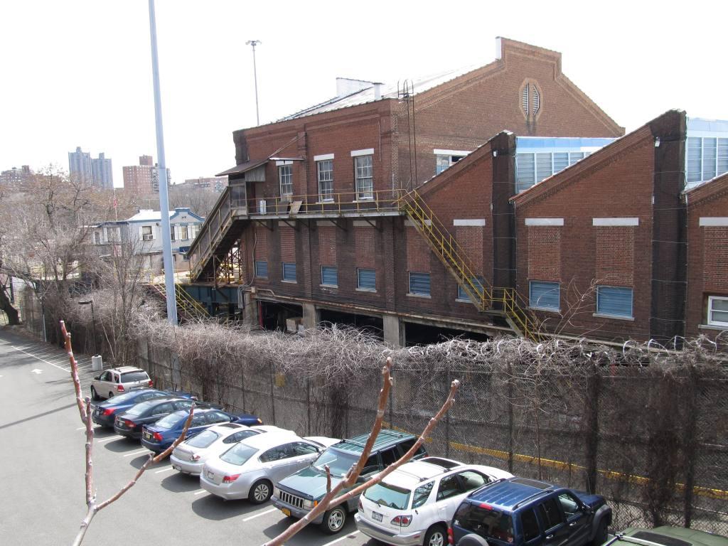 (144k, 1024x768)<br><b>Country:</b> United States<br><b>City:</b> New York<br><b>System:</b> New York City Transit<br><b>Location:</b> 240th Street Yard<br><b>Photo by:</b> Robbie Rosenfeld<br><b>Date:</b> 3/30/2011<br><b>Notes:</b> View of shop building.<br><b>Viewed (this week/total):</b> 3 / 1451