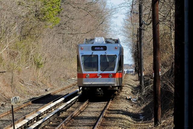 (148k, 640x427)<br><b>Country:</b> United States<br><b>City:</b> Philadelphia, PA<br><b>System:</b> SEPTA (or Predecessor)<br><b>Line:</b> 100-Norristown<br><b>Location:</b> Parkview <br><b>Car:</b> SEPTA N-5 LRV (Asea-Brown-Boveri, 1993)  <br><b>Photo by:</b> Richard Panse<br><b>Date:</b> 5/2011<br><b>Viewed (this week/total):</b> 0 / 386