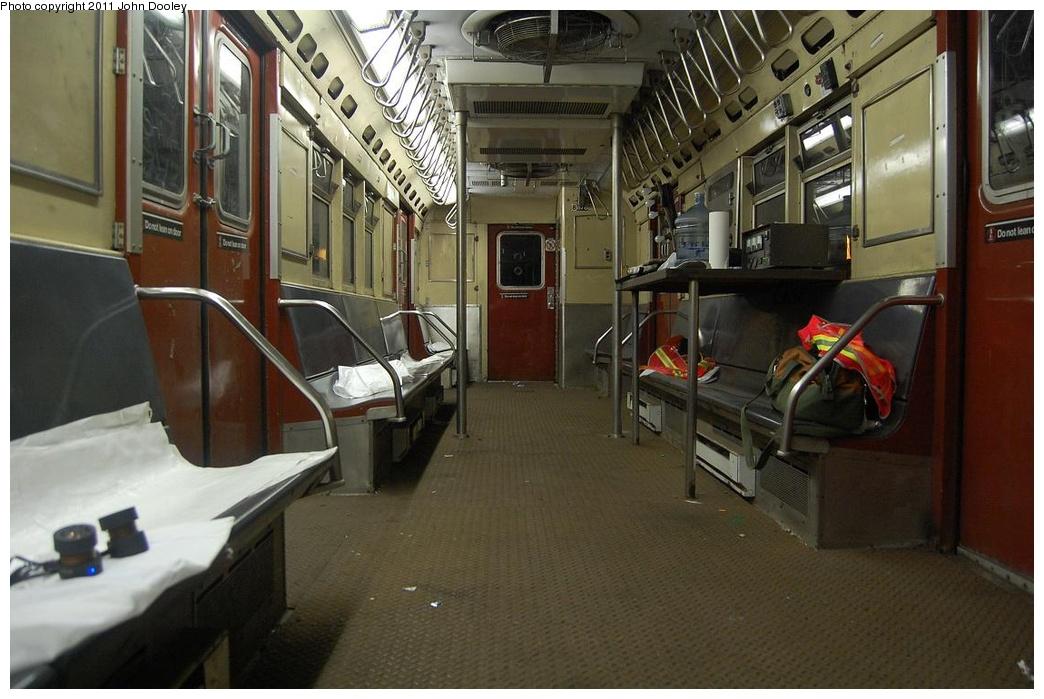 (289k, 1044x699)<br><b>Country:</b> United States<br><b>City:</b> New York<br><b>System:</b> New York City Transit<br><b>Route:</b> Work Service<br><b>Car:</b> R-161 Rider Car (ex-R-33)  RD430 (ex-8878)<br><b>Photo by:</b> John Dooley<br><b>Date:</b> 3/13/2011<br><b>Viewed (this week/total):</b> 1 / 1493