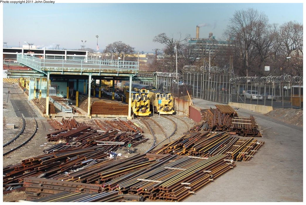 (288k, 1044x699)<br><b>Country:</b> United States<br><b>City:</b> New York<br><b>System:</b> New York City Transit<br><b>Location:</b> 36th Street Yard<br><b>Photo by:</b> John Dooley<br><b>Date:</b> 12/16/2010<br><b>Viewed (this week/total):</b> 2 / 1586