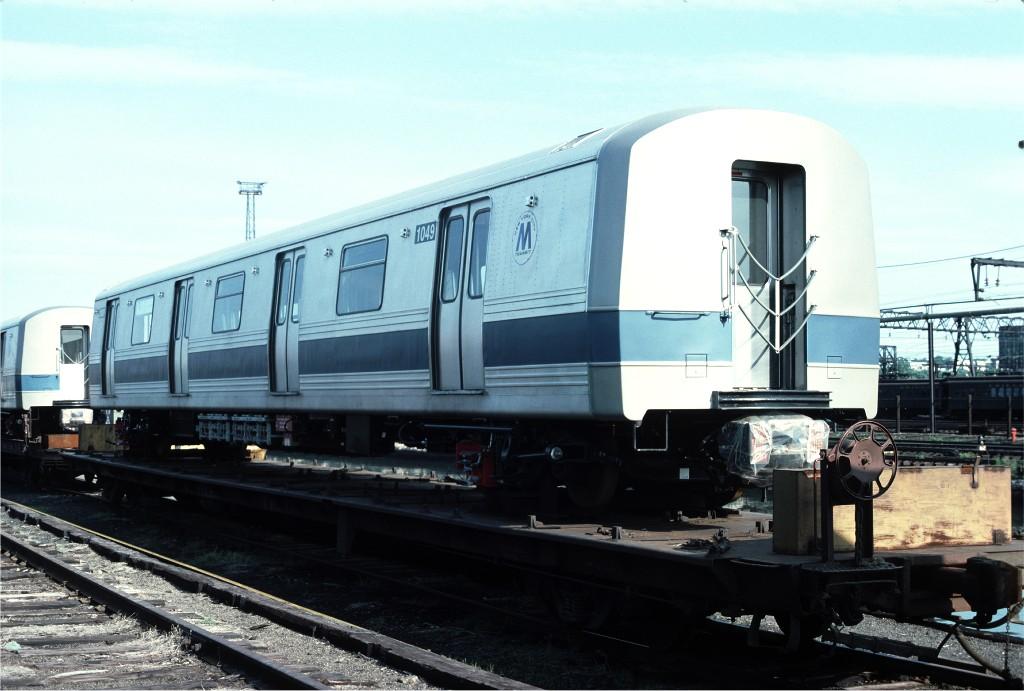 (158k, 1024x691)<br><b>Country:</b> United States<br><b>City:</b> Hoboken, NJ<br><b>System:</b> New York City Transit<br><b>Location:</b> Hoboken Yard <br><b>Car:</b> R-46 (Pullman-Standard, 1974-75) 1049 <br><b>Photo by:</b> Ed McKernan<br><b>Collection of:</b> Joe Testagrose<br><b>Date:</b> 6/13/1977<br><b>Viewed (this week/total):</b> 0 / 339