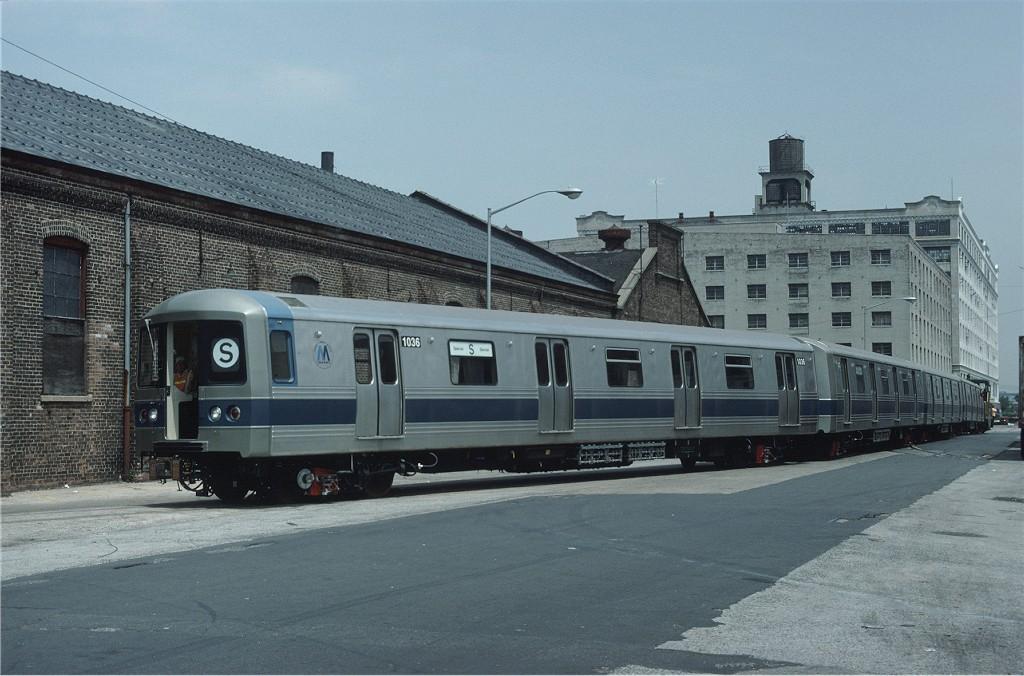 (181k, 1024x676)<br><b>Country:</b> United States<br><b>City:</b> New York<br><b>System:</b> New York City Transit<br><b>Location:</b> 1st Ave/46th St.<br><b>Car:</b> R-46 (Pullman-Standard, 1974-75) 1036 <br><b>Photo by:</b> Ed McKernan<br><b>Collection of:</b> Joe Testagrose<br><b>Date:</b> 5/25/1977<br><b>Viewed (this week/total):</b> 0 / 761