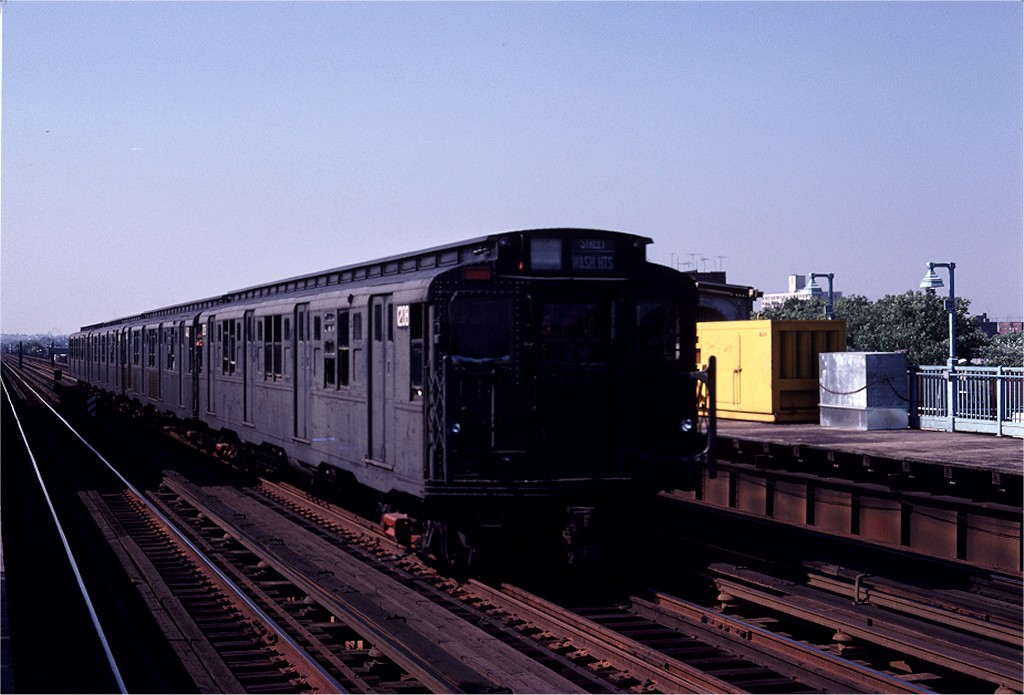 (155k, 1024x695)<br><b>Country:</b> United States<br><b>City:</b> New York<br><b>System:</b> New York City Transit<br><b>Line:</b> BMT Culver Line<br><b>Location:</b> Avenue P <br><b>Route:</b> Fan Trip<br><b>Car:</b> R-6-2 (Pullman, 1936)  1208 <br><b>Photo by:</b> Joe Testagrose<br><b>Date:</b> 7/4/1980<br><b>Viewed (this week/total):</b> 0 / 7546