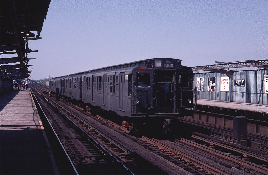 (176k, 1024x669)<br><b>Country:</b> United States<br><b>City:</b> New York<br><b>System:</b> New York City Transit<br><b>Line:</b> BMT Culver Line<br><b>Location:</b> Avenue U <br><b>Route:</b> Fan Trip<br><b>Car:</b> R-6-2 (Pullman, 1936)  1208 <br><b>Photo by:</b> Joe Testagrose<br><b>Date:</b> 7/4/1980<br><b>Viewed (this week/total):</b> 4 / 1287
