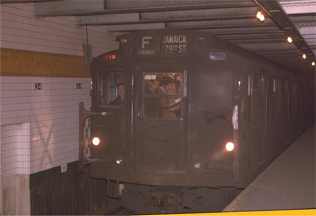 (145k, 1024x701)<br><b>Country:</b> United States<br><b>City:</b> New York<br><b>System:</b> New York City Transit<br><b>Line:</b> IND 6th Avenue Line<br><b>Location:</b> 34th Street/Herald Square <br><b>Route:</b> F<br><b>Car:</b> R-6-2 (Pullman, 1936)  1210 <br><b>Photo by:</b> Joe Testagrose<br><b>Date:</b> 12/1/1970<br><b>Viewed (this week/total):</b> 1 / 1460