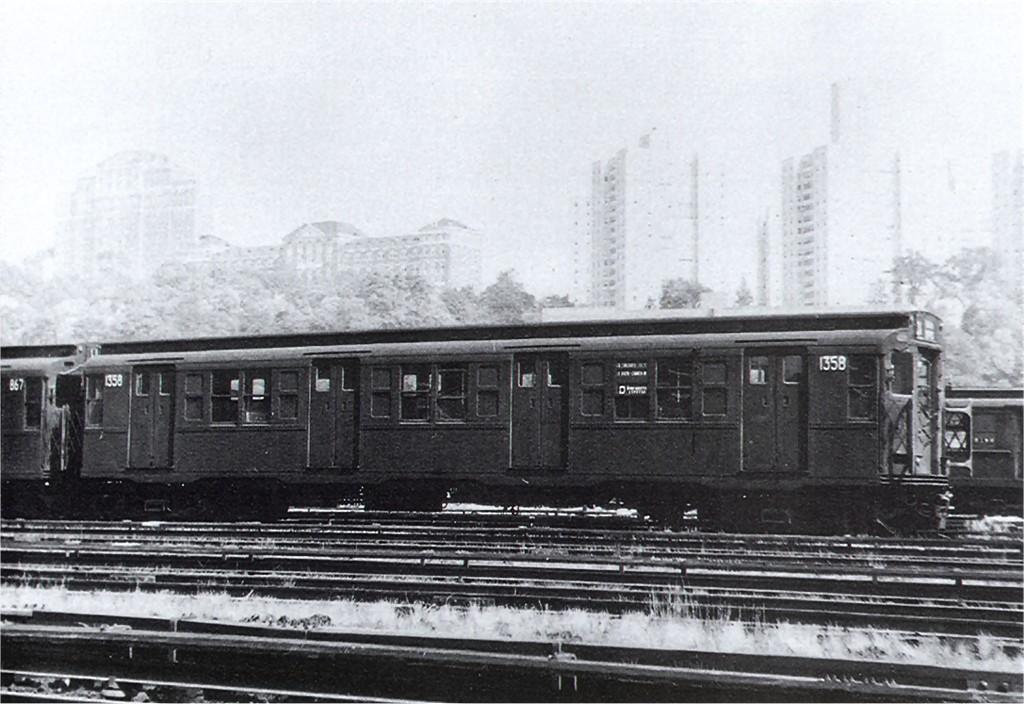 (178k, 1024x704)<br><b>Country:</b> United States<br><b>City:</b> New York<br><b>System:</b> New York City Transit<br><b>Location:</b> 207th Street Yard<br><b>Car:</b> R-6-1 (Pressed Steel, 1936)  1358 <br><b>Collection of:</b> Joe Testagrose<br><b>Viewed (this week/total):</b> 0 / 870