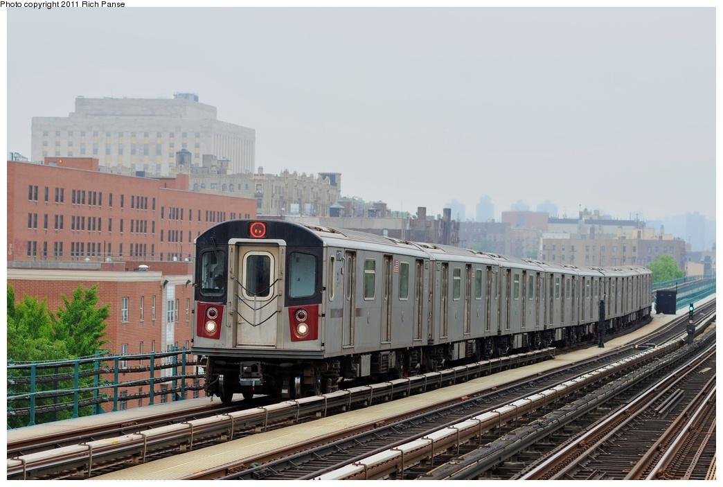 (238k, 1044x703)<br><b>Country:</b> United States<br><b>City:</b> New York<br><b>System:</b> New York City Transit<br><b>Line:</b> IRT Woodlawn Line<br><b>Location:</b> 167th Street <br><b>Route:</b> 4<br><b>Car:</b> R-142 (Option Order, Bombardier, 2002-2003)  1170 <br><b>Photo by:</b> Richard Panse<br><b>Date:</b> 5/22/2011<br><b>Viewed (this week/total):</b> 0 / 1014