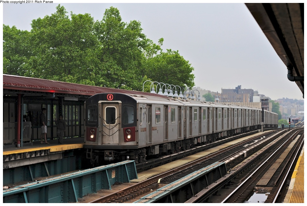 (312k, 1044x702)<br><b>Country:</b> United States<br><b>City:</b> New York<br><b>System:</b> New York City Transit<br><b>Line:</b> IRT Woodlawn Line<br><b>Location:</b> 170th Street <br><b>Route:</b> 4<br><b>Car:</b> R-142 (Option Order, Bombardier, 2002-2003)  7131 <br><b>Photo by:</b> Richard Panse<br><b>Date:</b> 5/22/2011<br><b>Viewed (this week/total):</b> 3 / 830