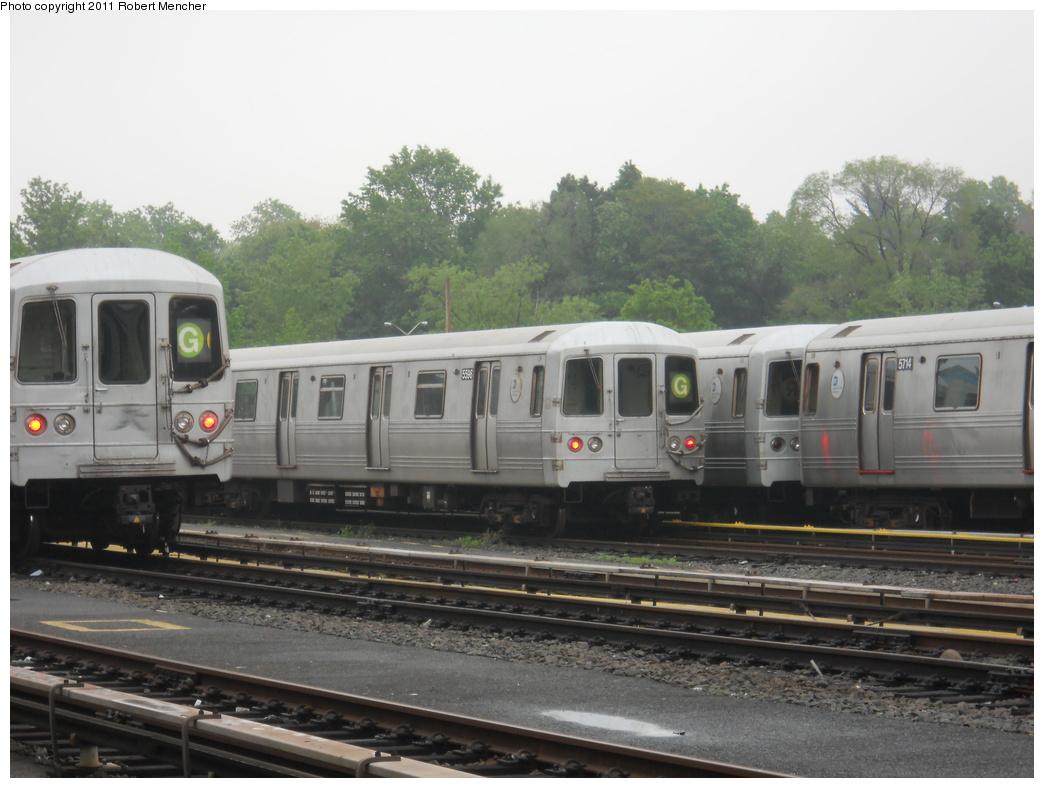 (318k, 1044x788)<br><b>Country:</b> United States<br><b>City:</b> New York<br><b>System:</b> New York City Transit<br><b>Location:</b> Jamaica Yard/Shops<br><b>Car:</b> R-46 (Pullman-Standard, 1974-75) 5596 <br><b>Photo by:</b> Robert Mencher<br><b>Date:</b> 5/19/2011<br><b>Viewed (this week/total):</b> 1 / 1063