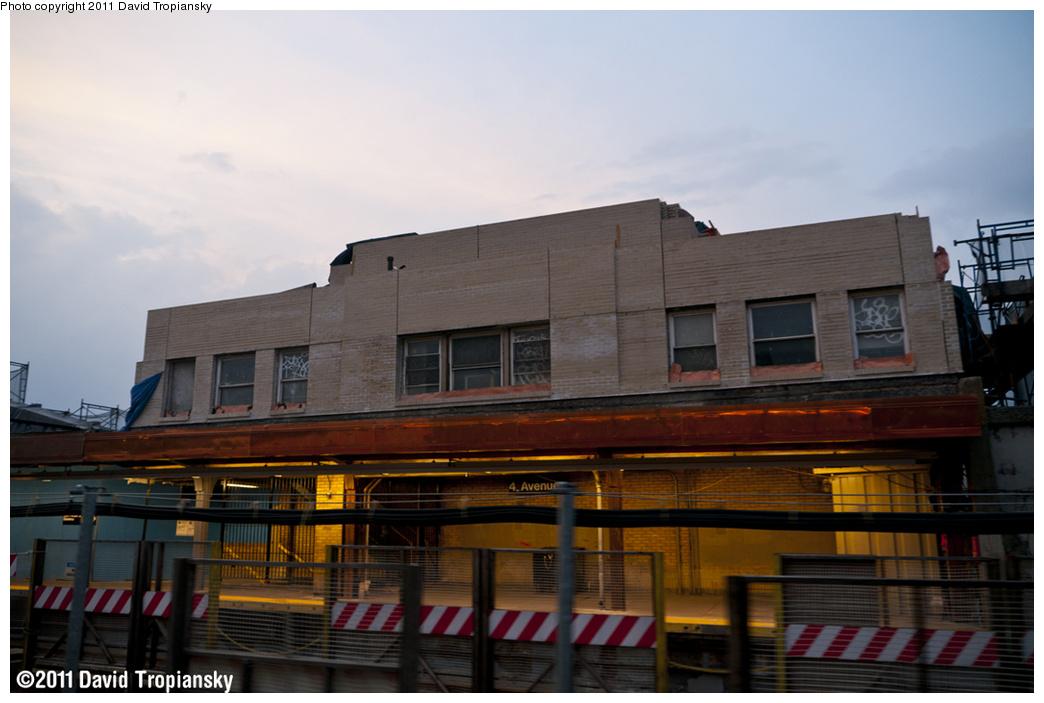 (285k, 1044x703)<br><b>Country:</b> United States<br><b>City:</b> New York<br><b>System:</b> New York City Transit<br><b>Line:</b> IND Crosstown Line<br><b>Location:</b> 4th Avenue <br><b>Photo by:</b> David Tropiansky<br><b>Date:</b> 6/11/2011<br><b>Notes:</b> Structure rehab at 4th Ave.<br><b>Viewed (this week/total):</b> 0 / 1036