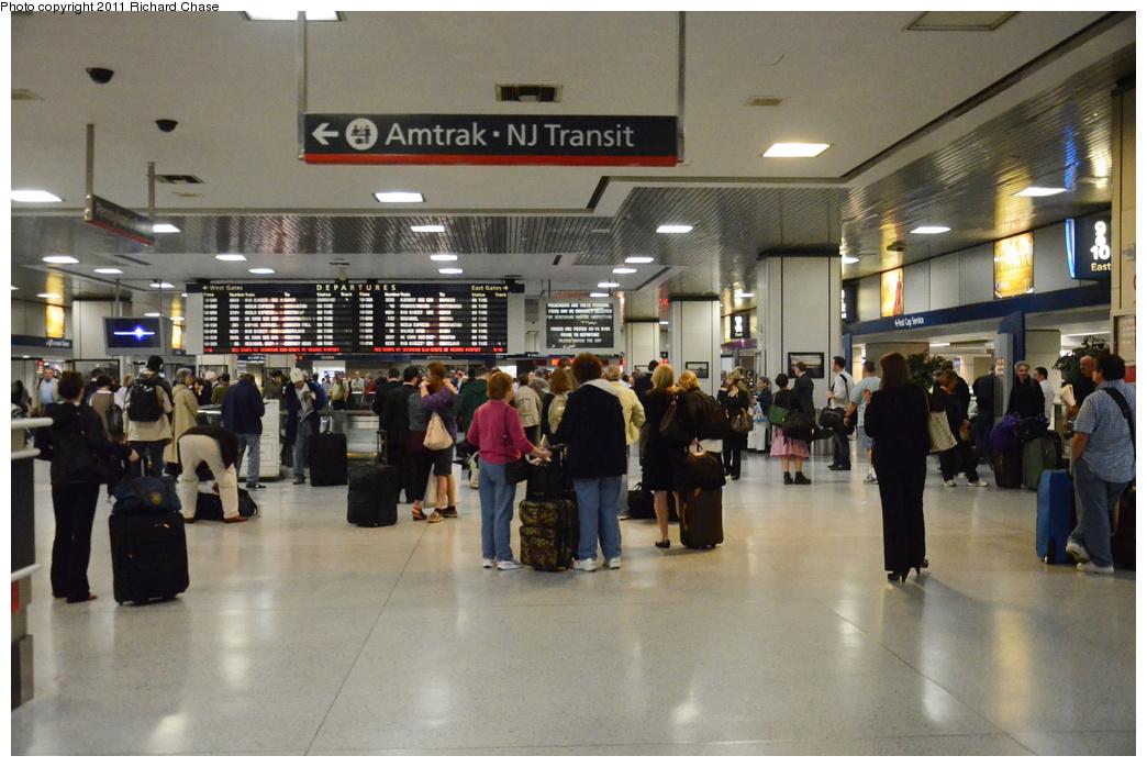 (331k, 1044x698)<br><b>Country:</b> United States<br><b>System:</b> Northeast Corridor (NJ) (Amtrak/NJTransit)<br><b>Line:</b> Northeast Corridor<br><b>Location:</b> Penn Station-New York (Amtrak) <br><b>Photo by:</b> Richard Chase<br><b>Date:</b> 5/23/2011<br><b>Viewed (this week/total):</b> 1 / 757