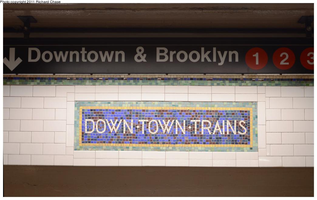 (258k, 1044x659)<br><b>Country:</b> United States<br><b>City:</b> New York<br><b>System:</b> New York City Transit<br><b>Line:</b> IRT West Side Line<br><b>Location:</b> Times Square/42nd Street <br><b>Photo by:</b> Richard Chase<br><b>Date:</b> 5/23/2011<br><b>Viewed (this week/total):</b> 3 / 835