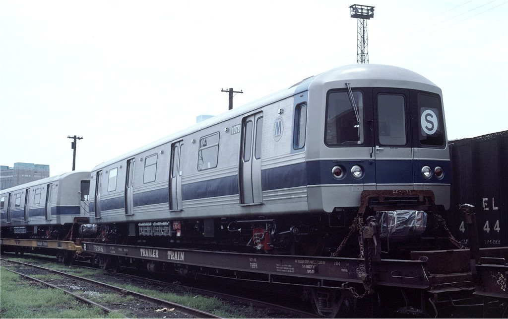 (135k, 1024x642)<br><b>Country:</b> United States<br><b>City:</b> Hoboken, NJ<br><b>System:</b> New York City Transit<br><b>Location:</b> Hoboken Yard <br><b>Car:</b> R-46 (Pullman-Standard, 1974-75) 1078 <br><b>Photo by:</b> Ed McKernan<br><b>Collection of:</b> Joe Testagrose<br><b>Date:</b> 7/4/1977<br><b>Viewed (this week/total):</b> 1 / 529