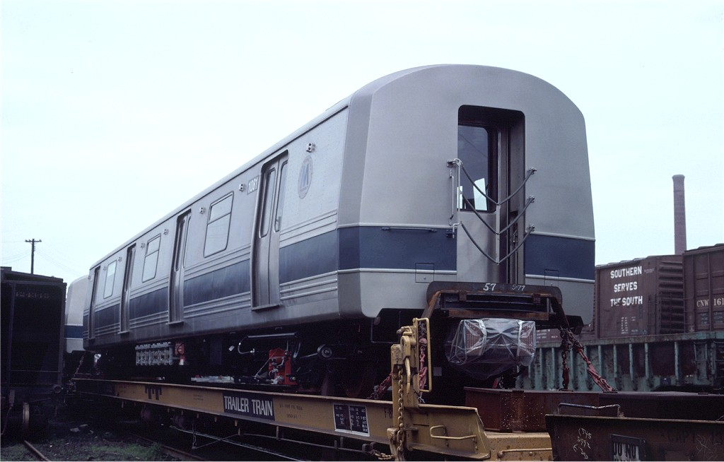 (126k, 1024x654)<br><b>Country:</b> United States<br><b>City:</b> Hoboken, NJ<br><b>System:</b> New York City Transit<br><b>Location:</b> Hoboken Yard <br><b>Car:</b> R-46 (Pullman-Standard, 1974-75) 1081 <br><b>Photo by:</b> Ed McKernan<br><b>Collection of:</b> Joe Testagrose<br><b>Date:</b> 7/4/1977<br><b>Viewed (this week/total):</b> 3 / 478