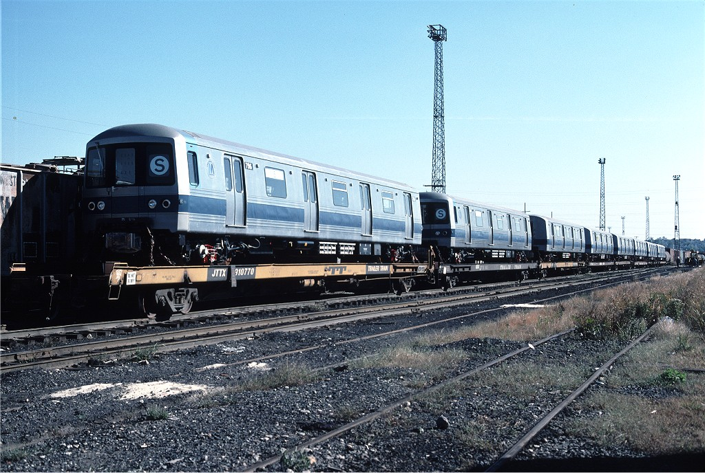 (261k, 1024x688)<br><b>Country:</b> United States<br><b>City:</b> Secaucus, NJ<br><b>System:</b> New York City Transit<br><b>Location:</b> Croxton Yard (NYCTA Equipment Delivery)<br><b>Car:</b> R-46 (Pullman-Standard, 1974-75) 796 <br><b>Photo by:</b> Ed McKernan<br><b>Collection of:</b> Joe Testagrose<br><b>Date:</b> 10/11/1976<br><b>Viewed (this week/total):</b> 0 / 462