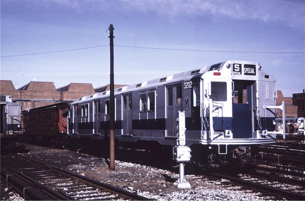 (218k, 1024x674)<br><b>Country:</b> United States<br><b>City:</b> New York<br><b>System:</b> New York City Transit<br><b>Location:</b> Coney Island Yard<br><b>Car:</b> R-10 (American Car & Foundry, 1948) 3202 <br><b>Collection of:</b> Joe Testagrose<br><b>Date:</b> 2/12/1971<br><b>Viewed (this week/total):</b> 3 / 963