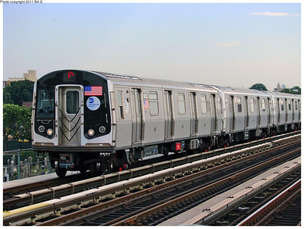 (444k, 1044x788)<br><b>Country:</b> United States<br><b>City:</b> New York<br><b>System:</b> New York City Transit<br><b>Line:</b> BMT Culver Line<br><b>Location:</b> Bay Parkway (22nd Avenue) <br><b>Route:</b> F<br><b>Car:</b> R-160A (Option 1) (Alstom, 2008-2009, 5 car sets)  9532 <br><b>Photo by:</b> Bill E.<br><b>Date:</b> 7/30/2010<br><b>Viewed (this week/total):</b> 1 / 823
