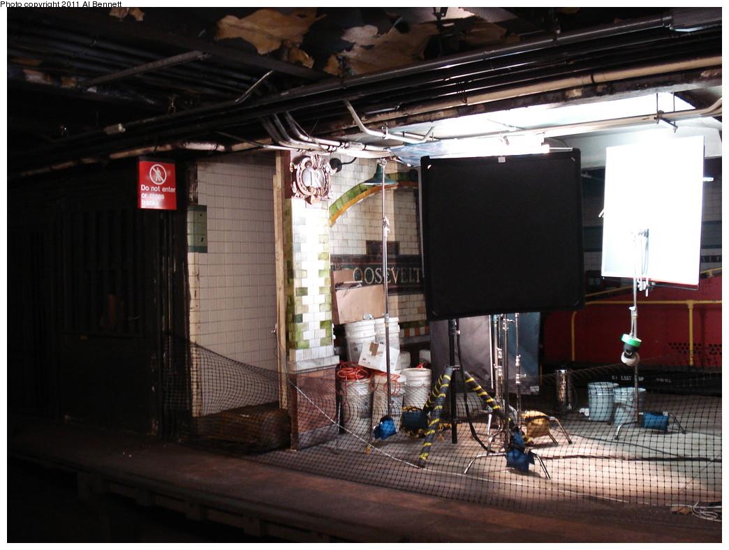 (226k, 1044x788)<br><b>Country:</b> United States<br><b>City:</b> New York<br><b>System:</b> New York City Transit<br><b>Line:</b> IND Fulton Street Line<br><b>Location:</b> Hoyt-Schermerhorn Street <br><b>Photo by:</b> Al Bennett, Jr.<br><b>Date:</b> 5/19/2008<br><b>Notes:</b> Taking of Pelham 1-2-3 (remake) movie shoot.<br><b>Viewed (this week/total):</b> 2 / 1198