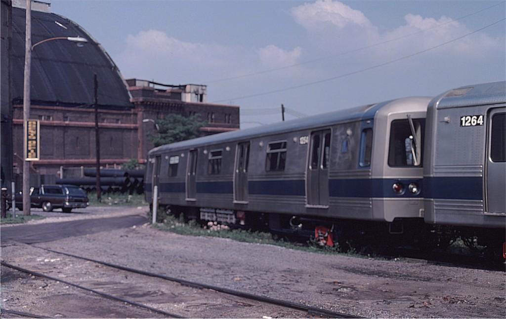 (137k, 1024x647)<br><b>Country:</b> United States<br><b>City:</b> New York<br><b>System:</b> New York City Transit<br><b>Location:</b> 1st Ave/50th St<br><b>Car:</b> R-46 (Pullman-Standard, 1974-75) 1254 <br><b>Photo by:</b> Ed McKernan<br><b>Collection of:</b> Joe Testagrose<br><b>Date:</b> 6/27/1977<br><b>Viewed (this week/total):</b> 0 / 675
