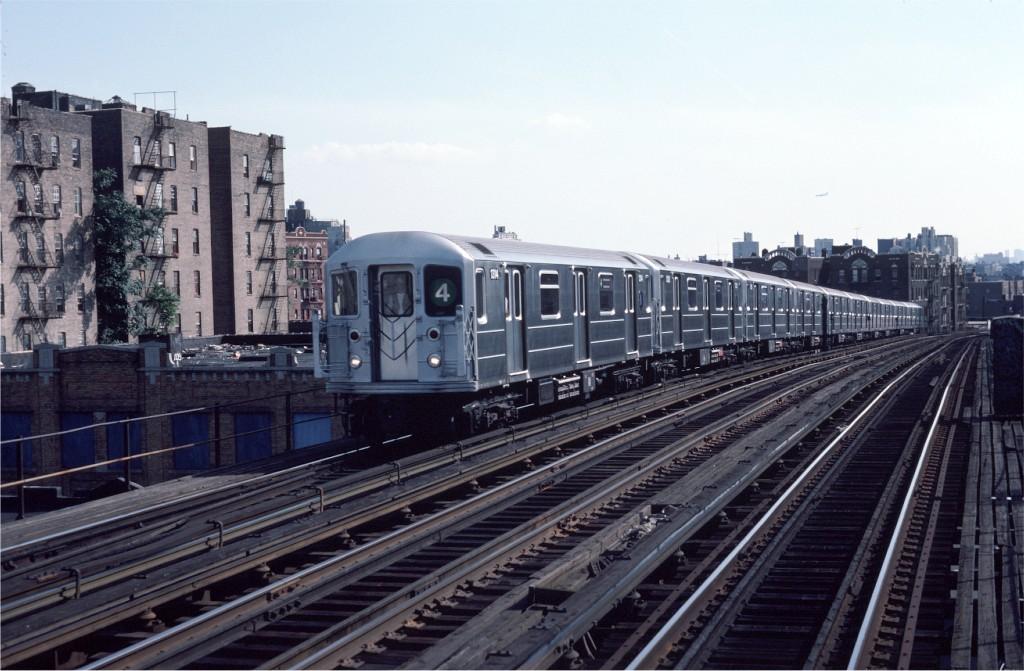 (180k, 1024x671)<br><b>Country:</b> United States<br><b>City:</b> New York<br><b>System:</b> New York City Transit<br><b>Line:</b> IRT Woodlawn Line<br><b>Location:</b> 183rd Street <br><b>Route:</b> 4<br><b>Car:</b> R-62 (Kawasaki, 1983-1985)  1314 <br><b>Photo by:</b> Eric Oszustowicz<br><b>Collection of:</b> Joe Testagrose<br><b>Date:</b> 8/18/1984<br><b>Viewed (this week/total):</b> 3 / 2224