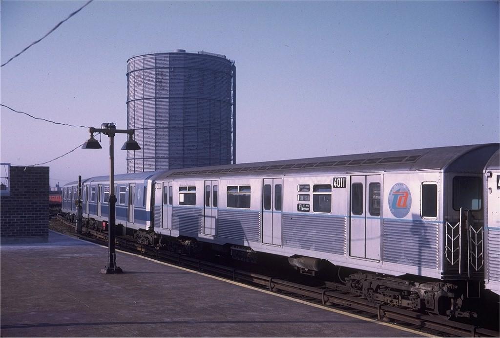 (179k, 1024x691)<br><b>Country:</b> United States<br><b>City:</b> New York<br><b>System:</b> New York City Transit<br><b>Location:</b> Coney Island/Stillwell Avenue<br><b>Route:</b> F<br><b>Car:</b> R-38 (St. Louis, 1966-1967)  4011 <br><b>Photo by:</b> Doug Grotjahn<br><b>Collection of:</b> Joe Testagrose<br><b>Date:</b> 5/17/1969<br><b>Viewed (this week/total):</b> 5 / 1001
