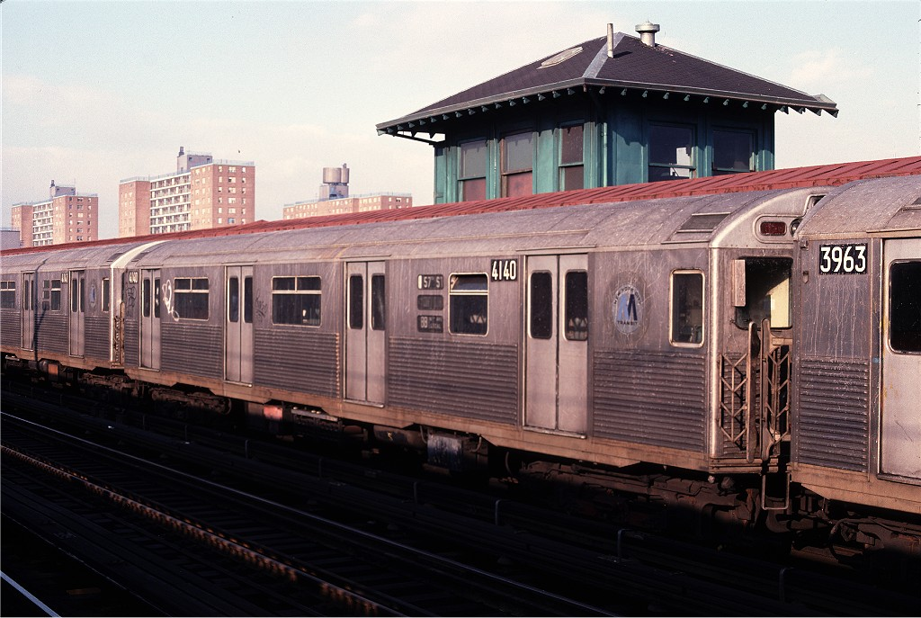(192k, 1024x687)<br><b>Country:</b> United States<br><b>City:</b> New York<br><b>System:</b> New York City Transit<br><b>Line:</b> BMT West End Line<br><b>Location:</b> Bay 50th Street <br><b>Route:</b> B<br><b>Car:</b> R-38 (St. Louis, 1966-1967)  4110 <br><b>Collection of:</b> Joe Testagrose<br><b>Date:</b> 2/11/1978<br><b>Viewed (this week/total):</b> 4 / 1192
