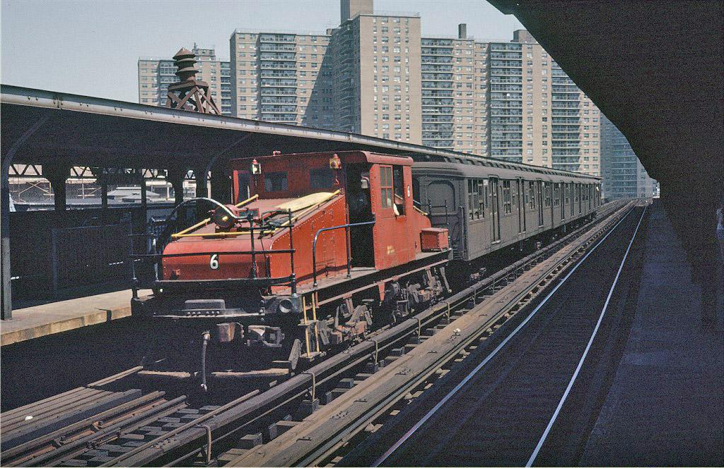 (307k, 1024x663)<br><b>Country:</b> United States<br><b>City:</b> New York<br><b>System:</b> New York City Transit<br><b>Line:</b> BMT Brighton Line<br><b>Location:</b> West 8th Street <br><b>Route:</b> Fan Trip<br><b>Car:</b> SBK Steeplecab 6 <br><b>Photo by:</b> Steve Zabel<br><b>Collection of:</b> Joe Testagrose<br><b>Date:</b> 8/23/1969<br><b>Viewed (this week/total):</b> 0 / 998
