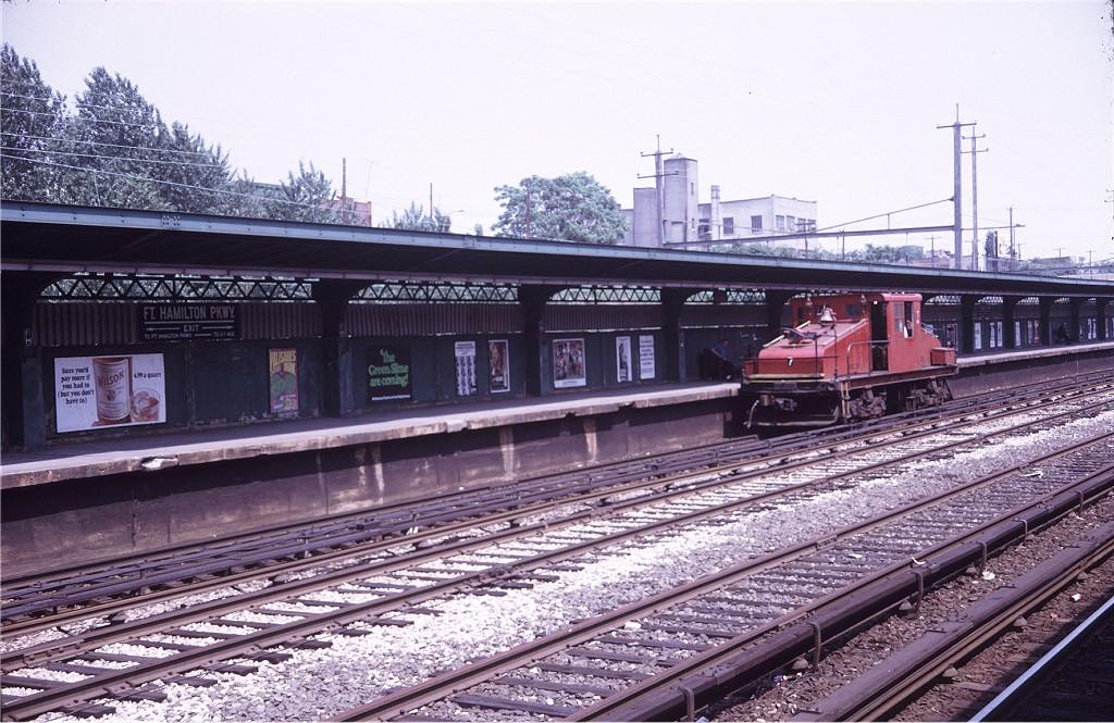 (236k, 1024x665)<br><b>Country:</b> United States<br><b>City:</b> New York<br><b>System:</b> New York City Transit<br><b>Line:</b> BMT Sea Beach Line<br><b>Location:</b> Fort Hamilton Parkway <br><b>Car:</b> SBK Steeplecab 7 <br><b>Photo by:</b> Doug Grotjahn<br><b>Collection of:</b> Joe Testagrose<br><b>Date:</b> 6/11/1969<br><b>Viewed (this week/total):</b> 6 / 980