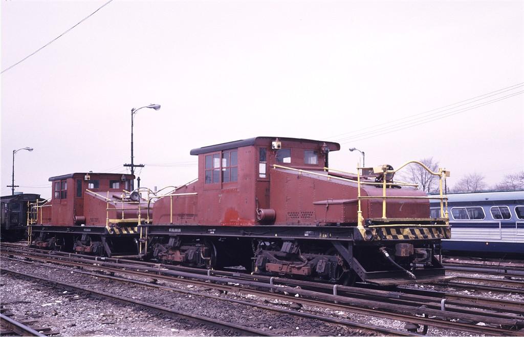 (169k, 1024x659)<br><b>Country:</b> United States<br><b>City:</b> New York<br><b>System:</b> New York City Transit<br><b>Location:</b> 36th Street Yard<br><b>Car:</b> SBK Steeplecab 7 <br><b>Photo by:</b> Steve Zabel<br><b>Collection of:</b> Joe Testagrose<br><b>Date:</b> 3/26/1974<br><b>Viewed (this week/total):</b> 0 / 963