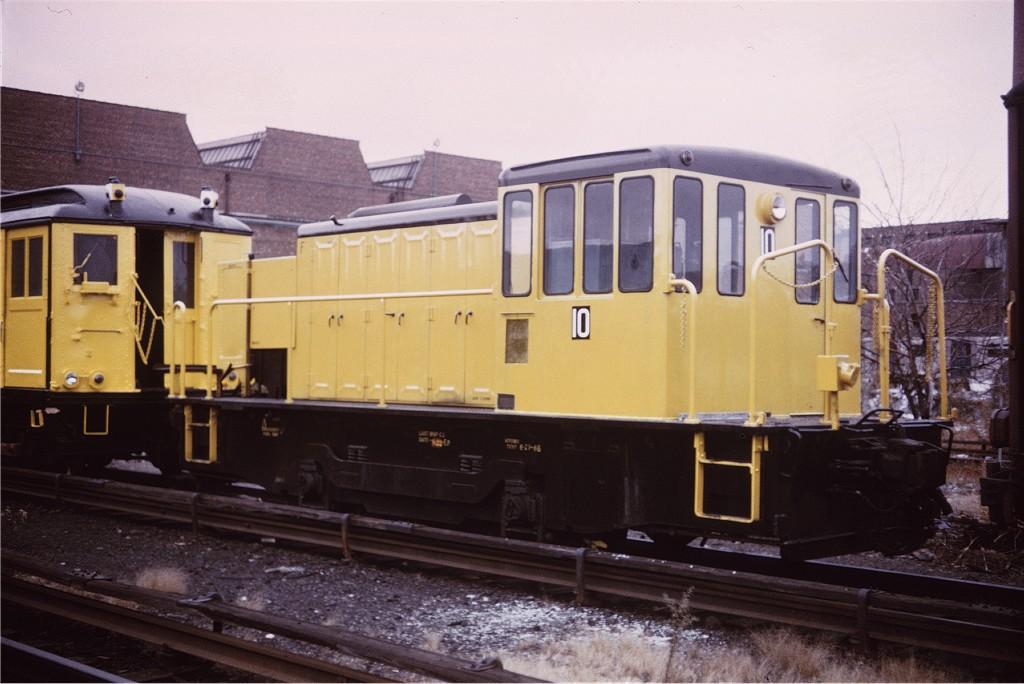 (163k, 1024x684)<br><b>Country:</b> United States<br><b>City:</b> New York<br><b>System:</b> New York City Transit<br><b>Location:</b> Coney Island Yard<br><b>Car:</b> GE 70-ton Locomotive (orig. for Speno Train)  10 <br><b>Collection of:</b> Joe Testagrose<br><b>Viewed (this week/total):</b> 1 / 697