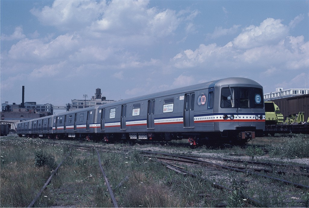 (218k, 1024x690)<br><b>Country:</b> United States<br><b>City:</b> New York<br><b>System:</b> New York City Transit<br><b>Line:</b> South Brooklyn Railway<br><b>Location:</b> Bush Terminal/New York Dock RR - 1st Ave & 51st (BTRR)<br><b>Car:</b> R-46 (Pullman-Standard, 1974-75) 1776 <br><b>Photo by:</b> Gerald H. Landau<br><b>Collection of:</b> Joe Testagrose<br><b>Date:</b> 6/27/1976<br><b>Viewed (this week/total):</b> 0 / 1101