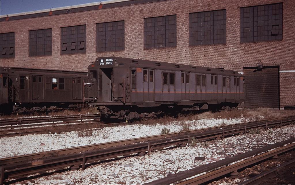 (242k, 1024x641)<br><b>Country:</b> United States<br><b>City:</b> New York<br><b>System:</b> New York City Transit<br><b>Location:</b> 207th Street Yard<br><b>Car:</b> R-10 (American Car & Foundry, 1948) 3206 <br><b>Photo by:</b> Willie Rosenberg<br><b>Collection of:</b> Joe Testagrose<br><b>Date:</b> 1/1963<br><b>Viewed (this week/total):</b> 3 / 1251