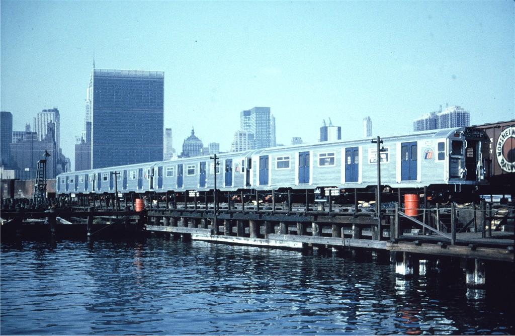 (235k, 1024x668)<br><b>Country:</b> United States<br><b>City:</b> New York<br><b>System:</b> Long Island Rail Road<br><b>Line:</b> LIRR Long Island City<br><b>Location:</b> Long Island City <br><b>Car:</b> R-32 (Budd, 1964)  3455 <br><b>Collection of:</b> Joe Testagrose<br><b>Viewed (this week/total):</b> 2 / 1367
