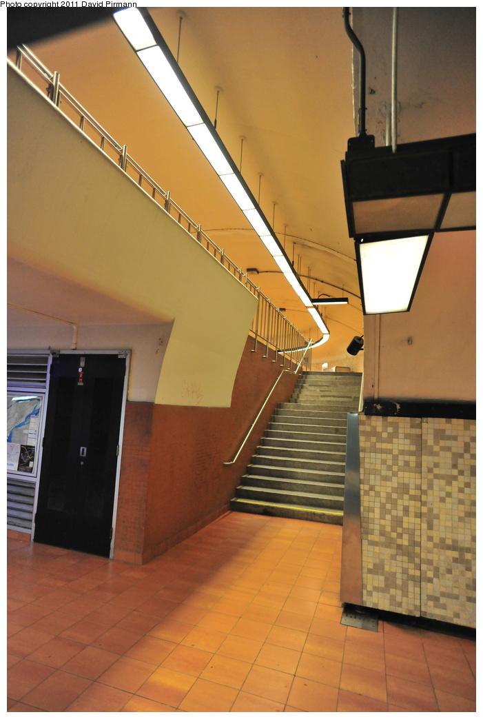 (293k, 701x1043)<br><b>Country:</b> Canada<br><b>City:</b> Montréal, Québec<br><b>System:</b> STM-Metro<br><b>Line:</b> STM Green Line <br><b>Location:</b> Frontenac <br><b>Photo by:</b> David Pirmann<br><b>Date:</b> 7/2/2011<br><b>Viewed (this week/total):</b> 0 / 244