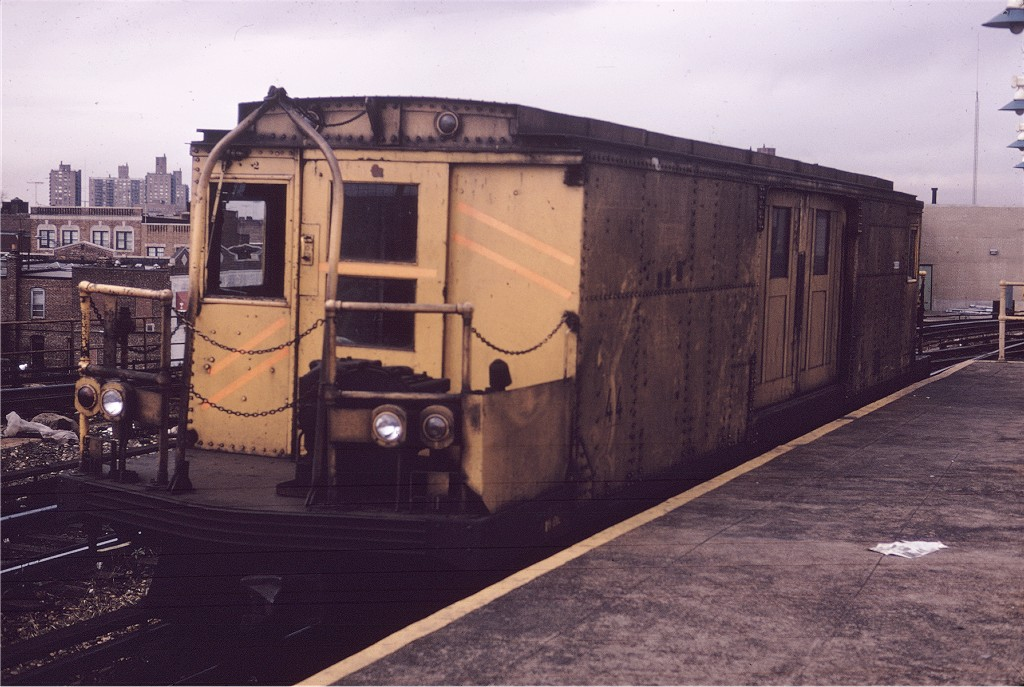 (191k, 1024x687)<br><b>Country:</b> United States<br><b>City:</b> New York<br><b>System:</b> New York City Transit<br><b>Location:</b> Coney Island/Stillwell Avenue<br><b>Car:</b> BMT Signal Supply Car (Diff. Car Co., 1927)  44 <br><b>Photo by:</b> Willie Rosenberg<br><b>Collection of:</b> Joe Testagrose<br><b>Viewed (this week/total):</b> 1 / 921