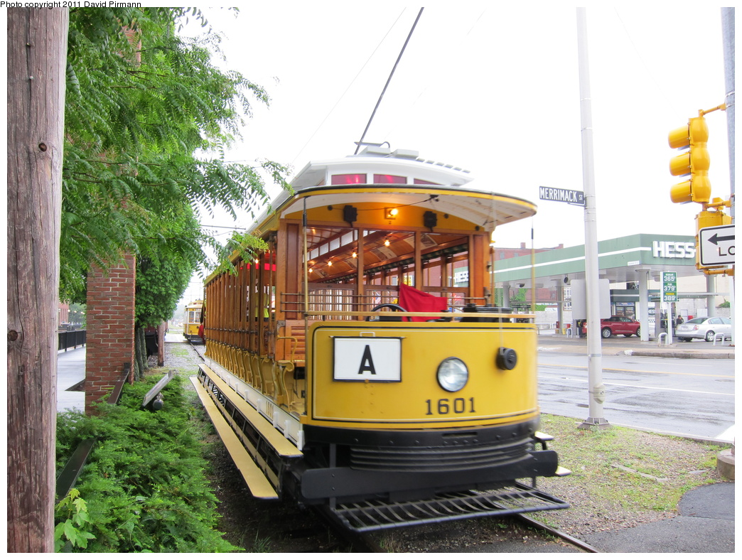 (383k, 1044x788)<br><b>Country:</b> United States<br><b>City:</b> Lowell, MA<br><b>System:</b> National Streetcar Museum at Lowell <br><b>Car:</b>  1601 <br><b>Photo by:</b> David Pirmann<br><b>Date:</b> 6/23/2011<br><b>Viewed (this week/total):</b> 0 / 638