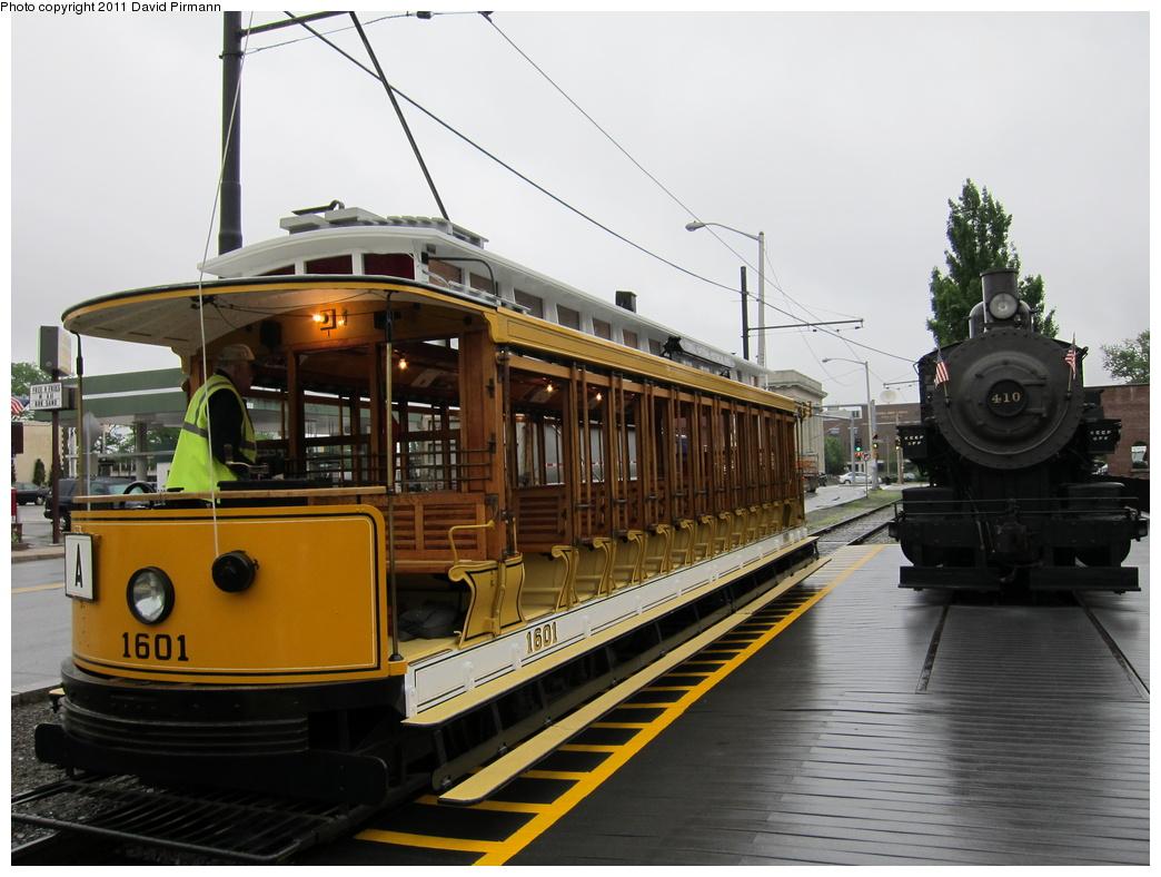 (287k, 1044x788)<br><b>Country:</b> United States<br><b>City:</b> Lowell, MA<br><b>System:</b> National Streetcar Museum at Lowell<br><b>Car:</b>  1601 <br><b>Photo by:</b> David Pirmann<br><b>Date:</b> 6/23/2011<br><b>Viewed (this week/total):</b> 0 / 1045