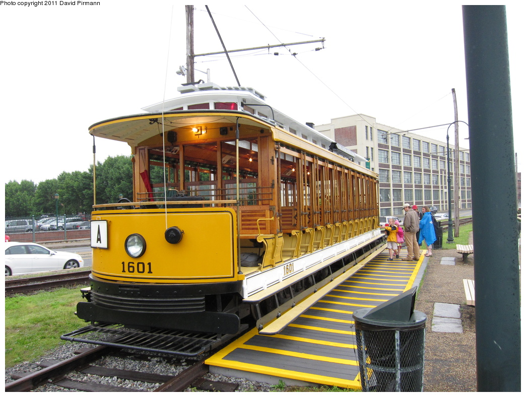 (339k, 1044x788)<br><b>Country:</b> United States<br><b>City:</b> Lowell, MA<br><b>System:</b> National Streetcar Museum at Lowell <br><b>Car:</b>  1601 <br><b>Photo by:</b> David Pirmann<br><b>Date:</b> 6/23/2011<br><b>Viewed (this week/total):</b> 2 / 658