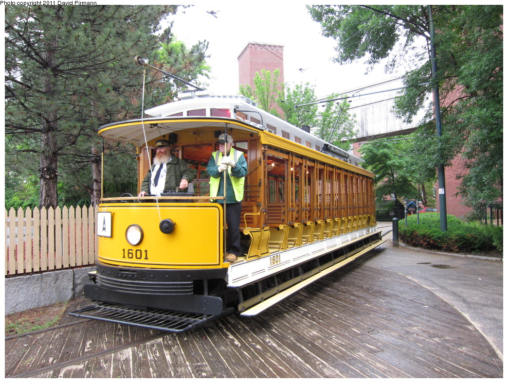 (498k, 1044x788)<br><b>Country:</b> United States<br><b>City:</b> Lowell, MA<br><b>System:</b> National Streetcar Museum at Lowell <br><b>Car:</b>  1601 <br><b>Photo by:</b> David Pirmann<br><b>Date:</b> 6/23/2011<br><b>Viewed (this week/total):</b> 1 / 740