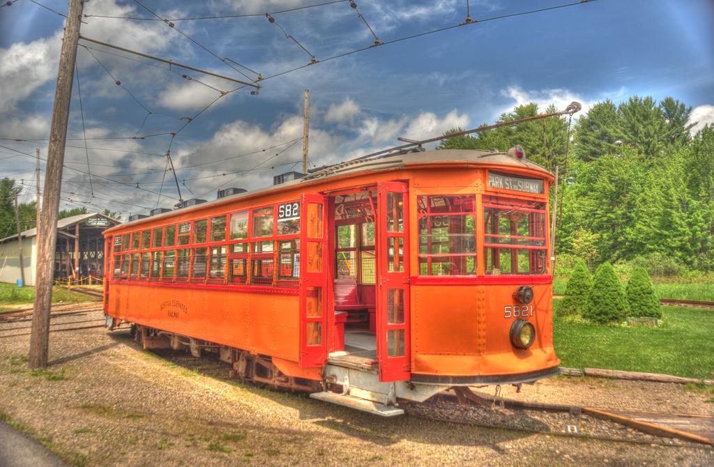 (425k, 1024x670)<br><b>Country:</b> United States<br><b>City:</b> Kennebunk, ME<br><b>System:</b> Seashore Trolley Museum <br><b>Car:</b> MBTA 5821 <br><b>Photo by:</b> David Pirmann<br><b>Date:</b> 6/26/2011<br><b>Viewed (this week/total):</b> 1 / 452