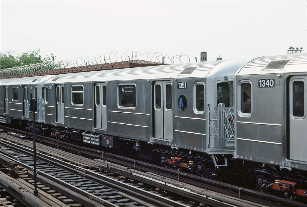 (254k, 1024x691)<br><b>Country:</b> United States<br><b>City:</b> New York<br><b>System:</b> New York City Transit<br><b>Line:</b> IRT Woodlawn Line<br><b>Location:</b> Bedford Park Boulevard <br><b>Car:</b> R-62 (Kawasaki, 1983-1985)  1351 <br><b>Photo by:</b> Eric Oszustowicz<br><b>Collection of:</b> Joe Testagrose<br><b>Date:</b> 6/15/1984<br><b>Viewed (this week/total):</b> 3 / 3399