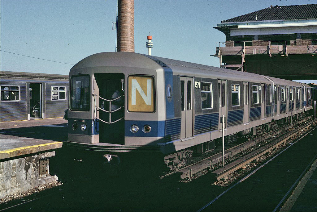 (316k, 1024x687)<br><b>Country:</b> United States<br><b>City:</b> New York<br><b>System:</b> New York City Transit<br><b>Location:</b> Coney Island/Stillwell Avenue<br><b>Car:</b> R-42 (St. Louis, 1969-1970)  4579 <br><b>Photo by:</b> Joe Testagrose<br><b>Date:</b> 6/28/1970<br><b>Viewed (this week/total):</b> 3 / 1264