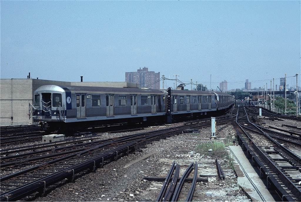 (285k, 1024x687)<br><b>Country:</b> United States<br><b>City:</b> New York<br><b>System:</b> New York City Transit<br><b>Location:</b> Coney Island/Stillwell Avenue<br><b>Car:</b> R-42 (St. Louis, 1969-1970)  4672 <br><b>Photo by:</b> Steve Zabel<br><b>Collection of:</b> Joe Testagrose<br><b>Date:</b> 8/10/1981<br><b>Viewed (this week/total):</b> 0 / 1460