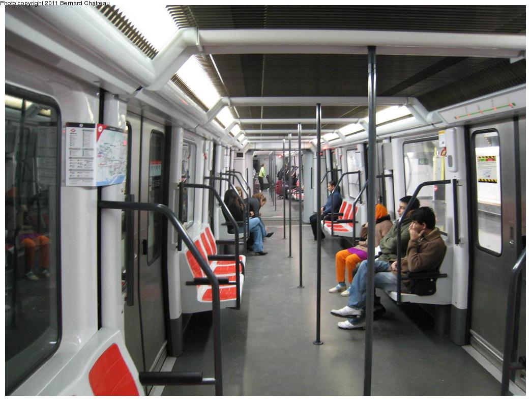 (282k, 1044x788)<br><b>Country:</b> Spain<br><b>City:</b> Barcelona<br><b>System:</b> Ferrocarril Metropolita de Barcelona (FMB)<br><b>Line:</b> FMB L11 (Trinitat Nova - Can Cuiàs)<br><b>Location:</b> Can Cuiàs (L11)<br><b>Car:</b>  504 <br><b>Photo by:</b> Bernard Chatreau<br><b>Date:</b> 2/23/2008<br><b>Viewed (this week/total):</b> 0 / 402