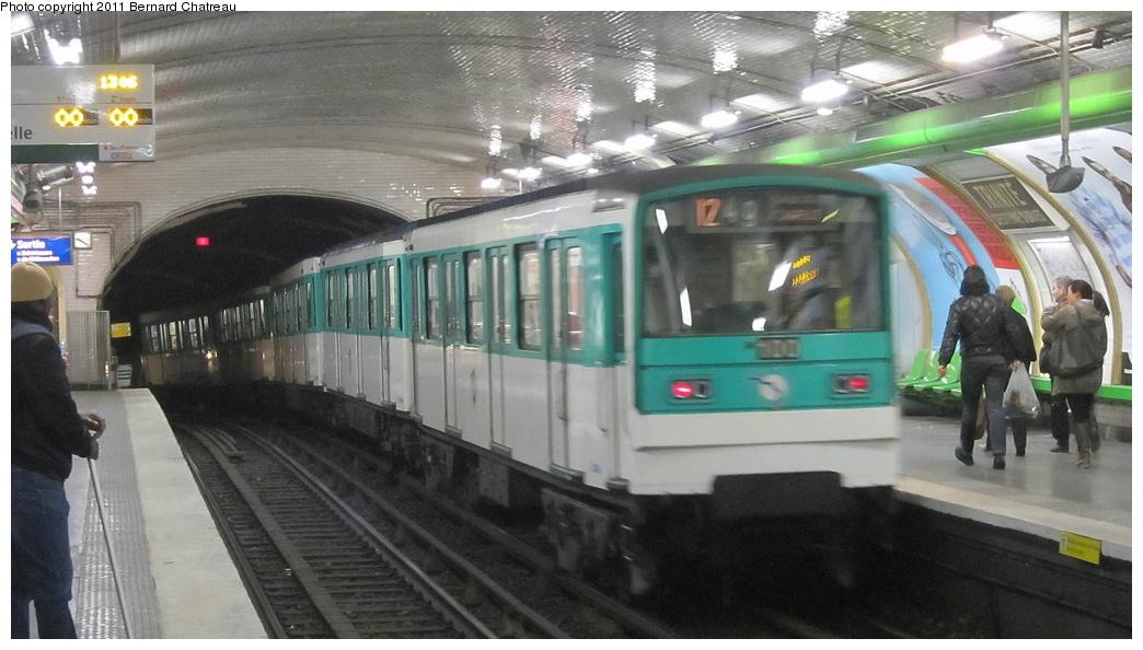 (256k, 1044x594)<br><b>Country:</b> France<br><b>City:</b> Paris<br><b>System:</b> RATP (Régie Autonome des Transports Parisiens)<br><b>Line:</b> Metro Ligne 12<br><b>Location:</b> Trinité-d'Estienne d'Orves <br><b>Car:</b> MF67 9049 <br><b>Photo by:</b> Bernard Chatreau<br><b>Date:</b> 2/28/2011<br><b>Viewed (this week/total):</b> 0 / 443