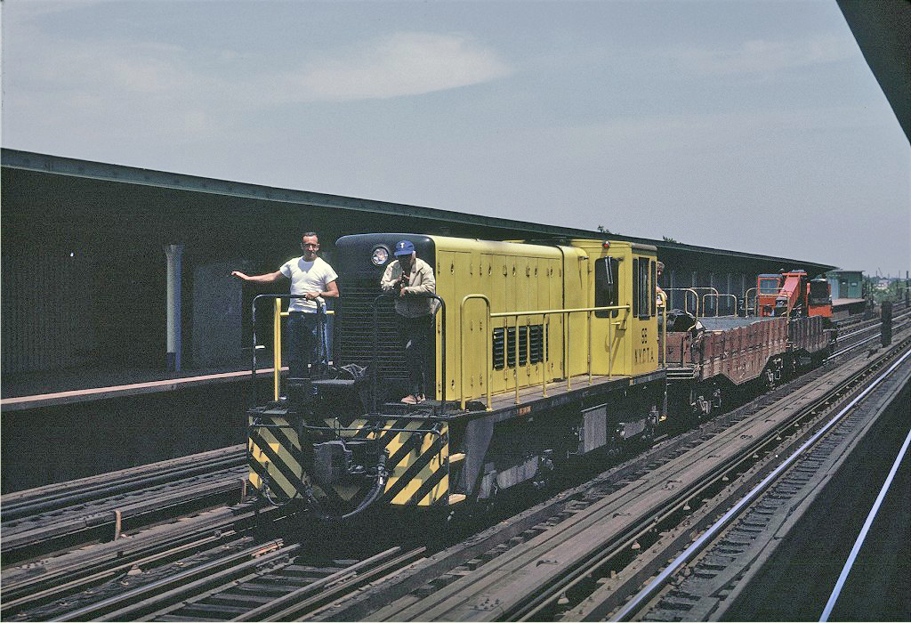 (312k, 1024x700)<br><b>Country:</b> United States<br><b>City:</b> New York<br><b>System:</b> New York City Transit<br><b>Line:</b> IND Fulton Street Line<br><b>Location:</b> 80th Street/Hudson Street <br><b>Route:</b> Work Service<br><b>Car:</b> R-41 Locomotive  56 <br><b>Photo by:</b> Joe Testagrose<br><b>Date:</b> 6/29/1970<br><b>Viewed (this week/total):</b> 2 / 758