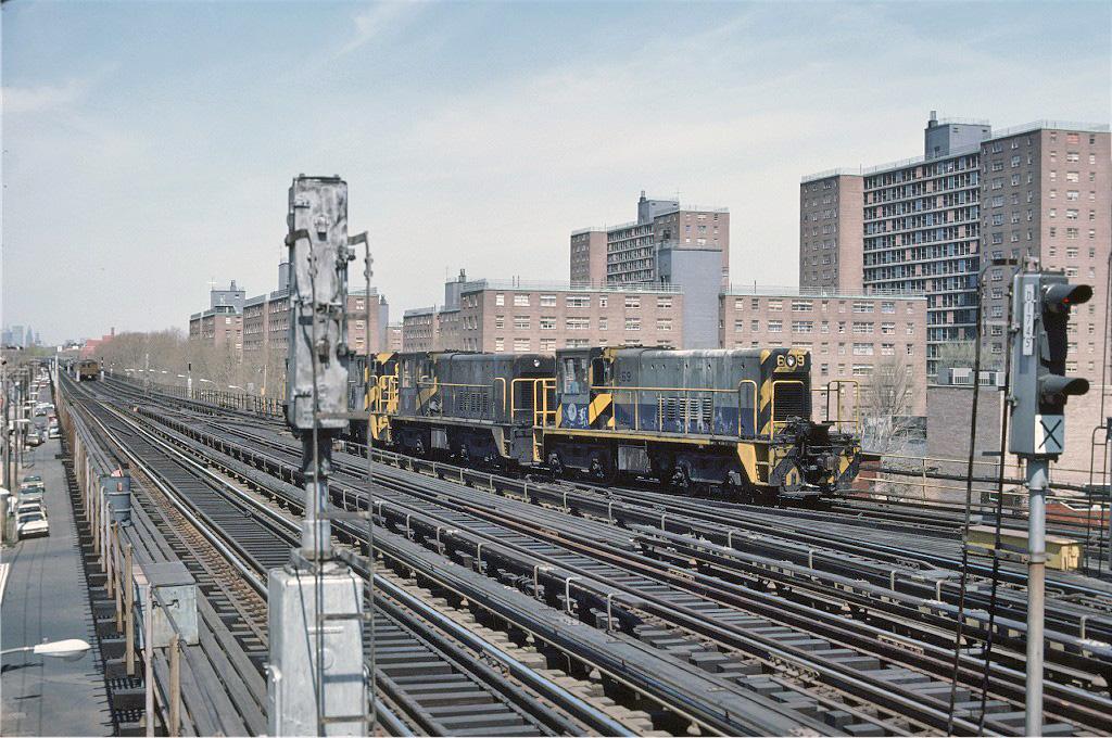 (332k, 1024x680)<br><b>Country:</b> United States<br><b>City:</b> New York<br><b>System:</b> New York City Transit<br><b>Line:</b> BMT West End Line<br><b>Location:</b> Bay 50th Street <br><b>Route:</b> Work Service<br><b>Car:</b> R-47 Locomotive  69 <br><b>Collection of:</b> Joe Testagrose<br><b>Viewed (this week/total):</b> 2 / 1000